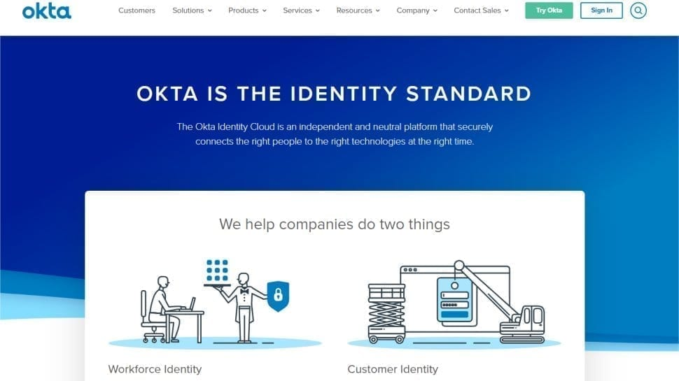 Okta - Premium device management with integration for lots of apps