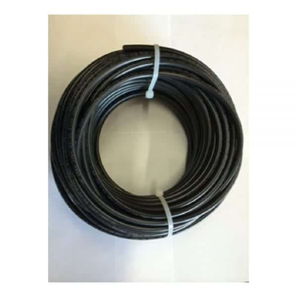 50' BULK BLACK COPPER #10 AWG SOLAR CABLE 1000V PV WIRE WITH XLPE INSULATION