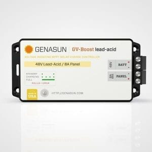 Genasun GV-Boost 8 Amp 36 Volt MPPT Solar Boost Charge Controller