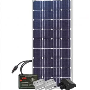 150 W Basic RV Solar kit from Globalsolarsupply.com