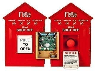 MidNite Solar MNBIRDHOUSE1-RED Emergency Disconnect Switch