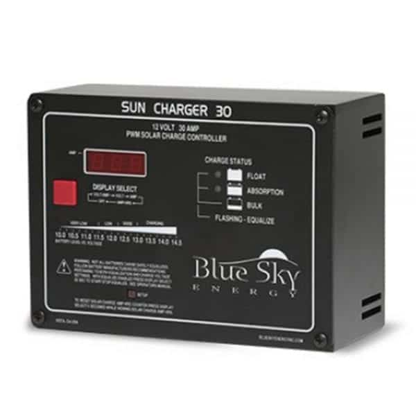 BLUE SKY SC30 30A PWM PANEL MOUNT CHARGE CONTROLLER