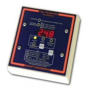 BOGART TM-2030-A-F AMP-HOUR METER TRIMETRIC METER WITH FUSE PANEL MOUNT