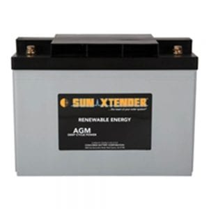 CONCORDE SUNXTENDER SEALED AGM BATTERY 12V 104AH