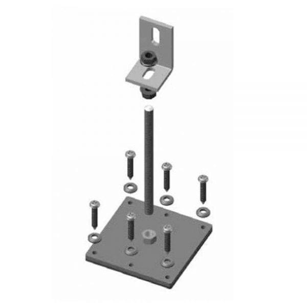 DPW POWERRAIL ACCESSORIES, ROOF ROD MOUNT