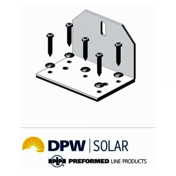 EASY FEET SOLAR MOUNTING L BRACKET PEF-1.5 BY DPW SOLAR 3