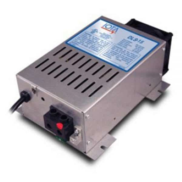 IOTA DLS-15 BATTERY CHARGER 15A 12VDC 120VAC