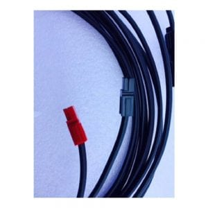 MC4 SOLAR PANEL CONNECTOR CABLE ACCESSORY FOR HUMLESS 1500 SERIES 20' LONG 2