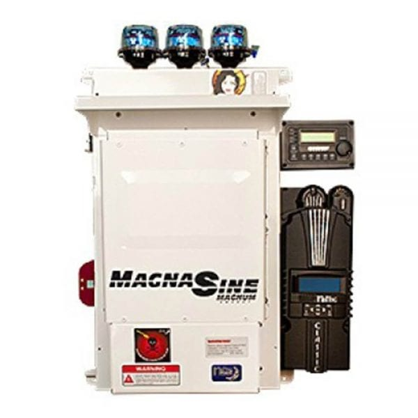 MIDNITE MAGNUM MNEMS4448PAECL150 PRE-WIRED POWER PANEL OFF-GRID 4.4KW 48VDC 120/240VAC MS4448PAE CL150
