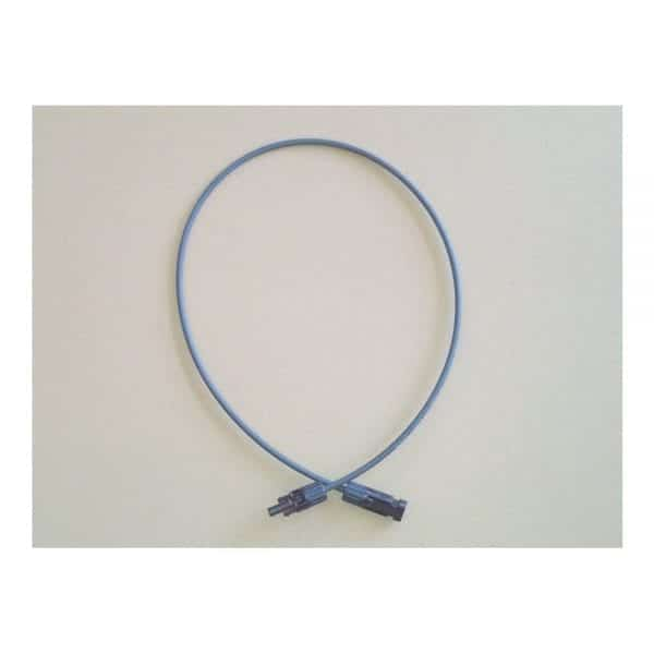 SOLAR PANEL CABLE 6 FT - MC-4 PV EXTENSION- 10 AWG COPPER WIRE - 1000VDC TOUGH XLPE INSULATION - SUNLIGHT RESISTANT UL LISTED