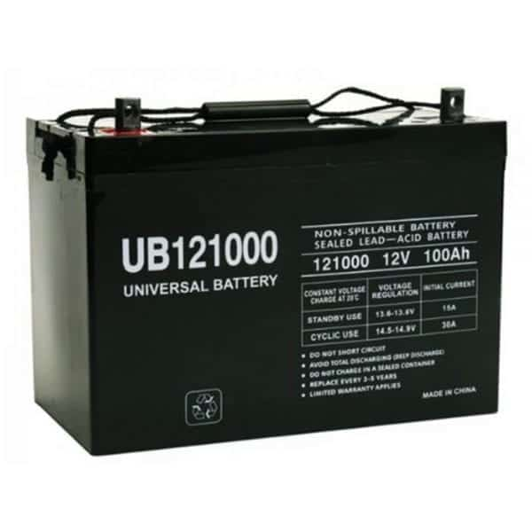 Universal Battery UB121000_Globalsolarsupply