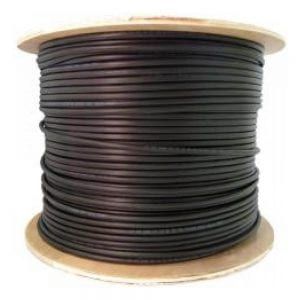 1000FT OF #10 AWG ENCORE BLACK SOLAR PV CABLE 1000V, UL 4703 COPPER, MADE IN USA
