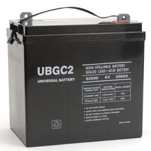UBGC2 Battery_GlobalsolarSupply