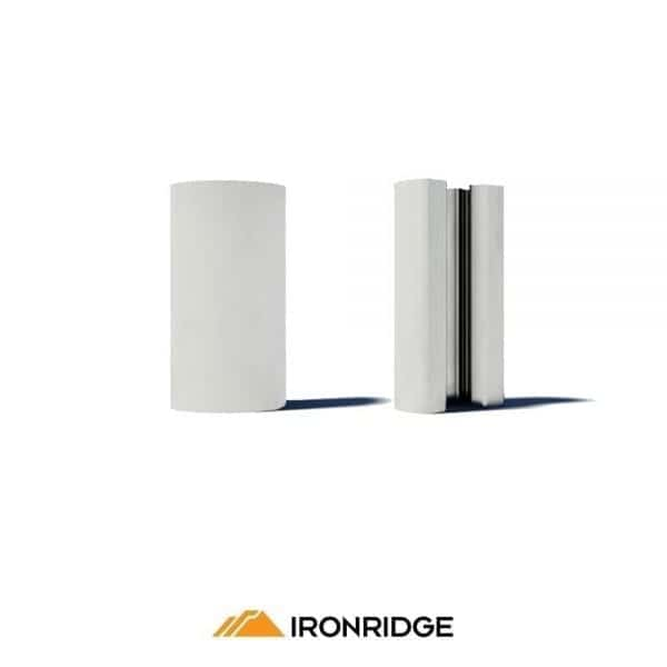 Ironridge-UFO-Stopper-Sleeves-End-Clamps-Silver1_Global Solar Supply