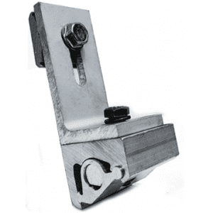 snapNRack Sealing metal roof clamp with L foor _GlobalSolarSupply