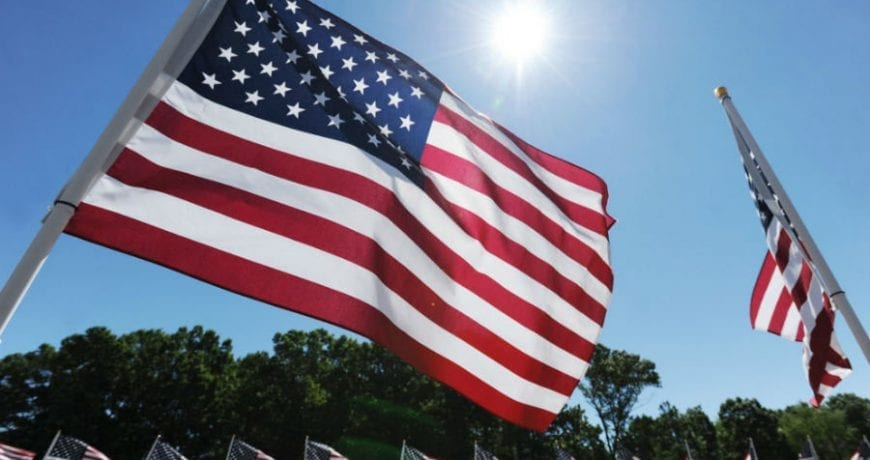 American Flags_Global Solar Supply