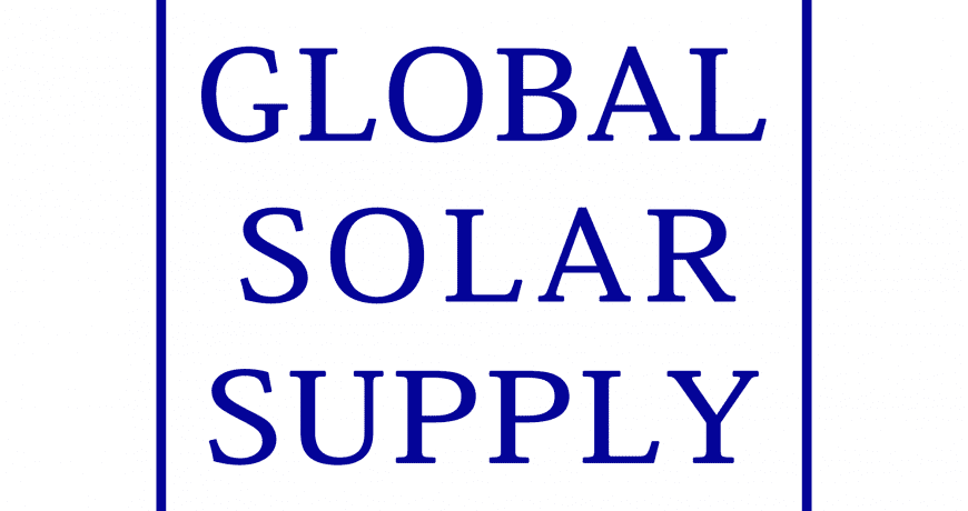 Global Solar Supply Squared Logo