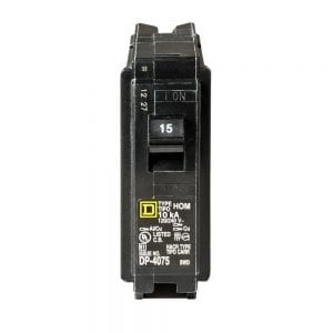 Homeline 15 Amp Single-Pole Circuit Breaker