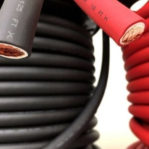 black and red battery cable bulk
