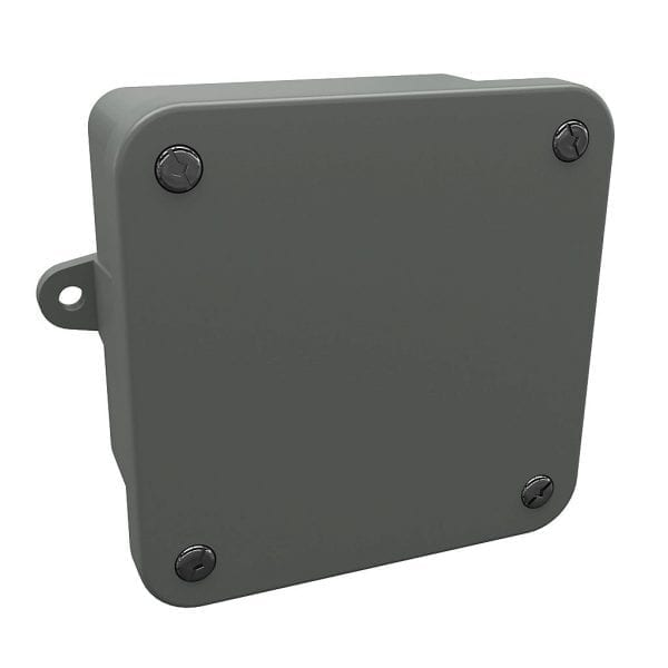 4x4x2 plastic J box outdoor rated