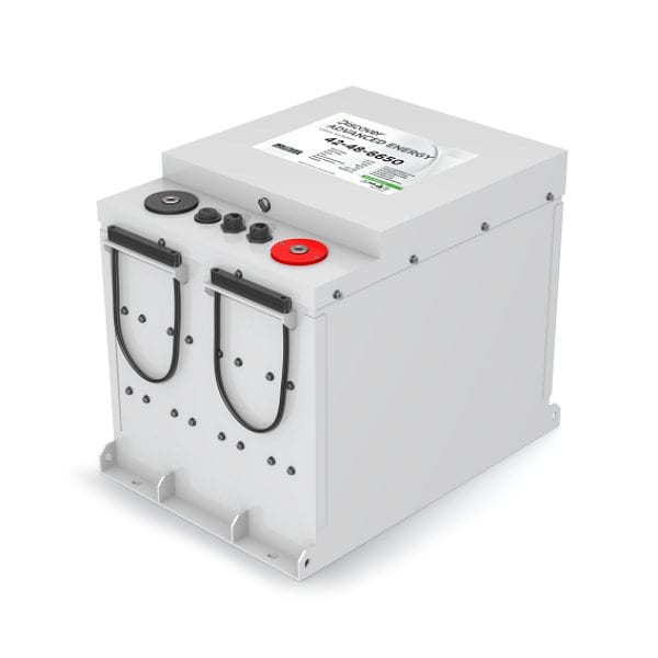 Discover 42-48-6650 6.65kWh AES Lithium-Ion Battery