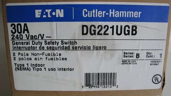 Eaton-DG221UGB-2-Wire-2-Pole-Non-Fusible-B-Series-General-Duty-Safety-Switch-240-Volt-AC-30-Amp-NEMA-1-B00MXAHX14-3