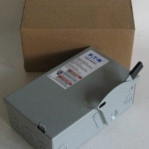 Eaton-DG221UGB-2-Wire-2-Pole-Non-Fusible-B-Series-General-Duty-Safety-Switch-240-Volt-AC-30-Amp-NEMA-1-B00MXAHX14