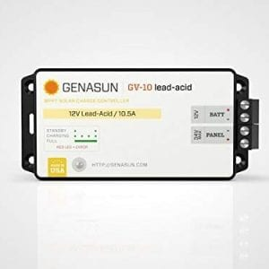 Genasun-GV-10-Pb-12V-10-Amps-12-Volts-140-Watts-MPPT-Solar-Charge-Controller-for-Lead-Acid-B01MST881K