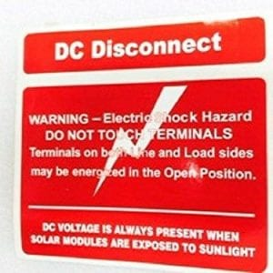 Labels-and-Industrial-Warning-Signs-Caution-Solar-Circ-PVC-Reflect-Labe