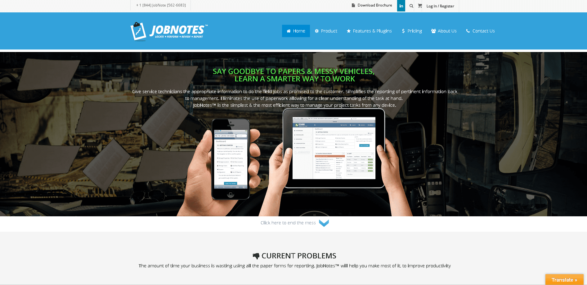 jobnotes website